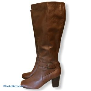 Cole Haan | Brown Heeled Boots